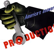 America's Answer! Production -- World War II by warishellstore