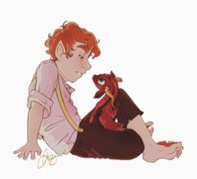 Bilbo and Smaug by wellkeptsecret