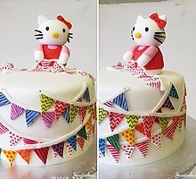 Span of the Kitty Cake by Jess Nixon