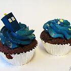TARDIS cupcakes by Jess Nixon