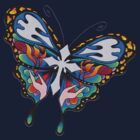 Christianity Butterfly Art by Aarron Laidig