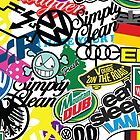 VW Sticker Bomb #wc2 by thatstickerguy