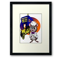 You never forget Your first Hammy! Framed Print