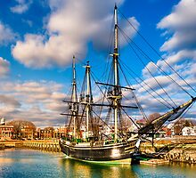 Friendship of Salem - Massachusetts Sailing Ship by Mark Tisdale