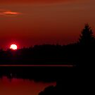 Sunset on Algonquin Park by Jim Cumming