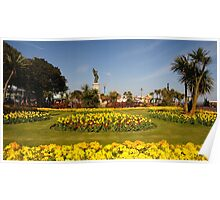 Clacton on Sea in Bloom Poster