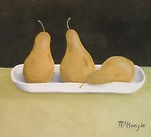 """Three Pears""  by rmckenzie"