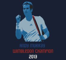 Andy Murray - Wimbledon Champion by BennH