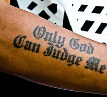 Only God Can Judge Me by Mark Jackson