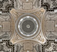 Holy ceiling by Jean-Claude Dahn