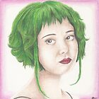 Green Haired Ramona by Jade Jones