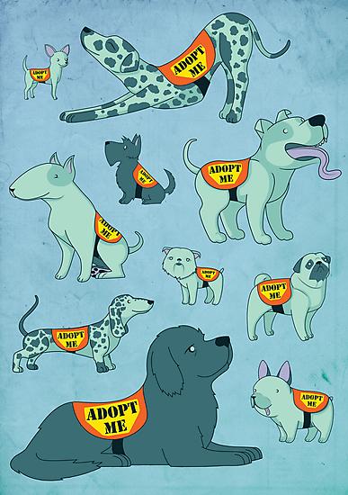 Adopt a Dog by Jessie Sima