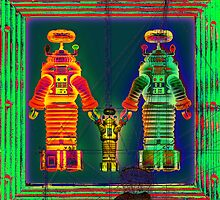 Robot Family 3 by RichardSmith