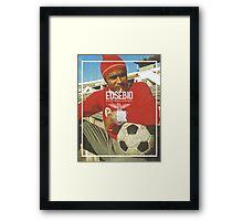 Eusebio Framed Print