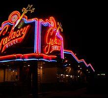 galaxy diner sign by Eva Kato