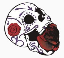 Rose Skull by Aengel