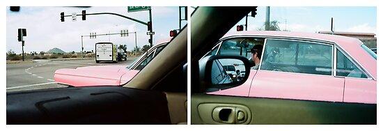 Long Pink Cadillac by wayneyoungphoto
