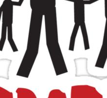 Zombie dance crew Sticker