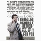 Castiel Typography by Tegan  Crocker