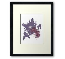Graffiti Haunter Framed Print
