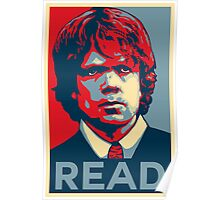Tyrion Reads Poster