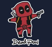 Chibi Deadpool (without blush and lollipop) by Sarah Kirk