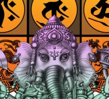 Ganesha Diamond Realm Sticker