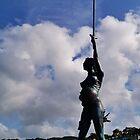 The Verity Statue. by littleredbird
