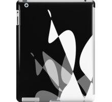 Black & White Graphic iPhone/iPod & iPad iPad Case/Skin
