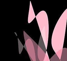 Pink & Black Graphic iPhone/iPod & iPad by GJPart