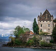 Yvoire Medieval Castle, France by TOM KLAUSZ