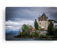Yvoire Medieval Castle, France Canvas Print