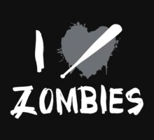 I Love Killing Zombies by BrightDesign