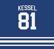 Phil Kessel iPad Jersey Case by TheTubbyLife