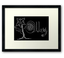 Margaret Olley - A Tribute to an Awesome Artist Framed Print