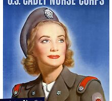 Join The U.S. Cadet Nurse Corps -- WW2 by warishellstore