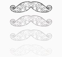 Moustache grey shades by Medusa Dollmaker