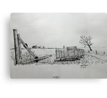 Buckboard Canvas Print