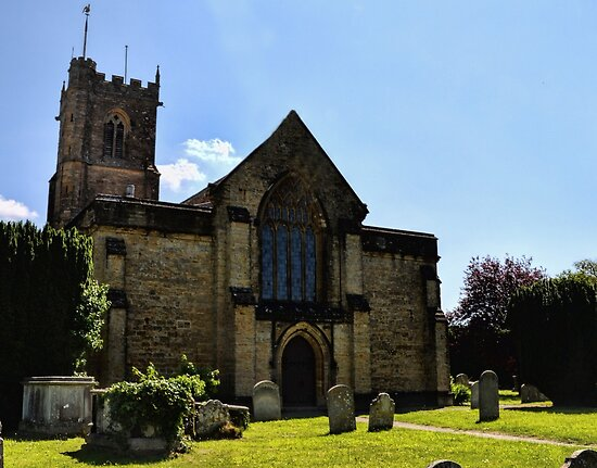 St Mary's Church Bridport Dorset UK by lynn carter