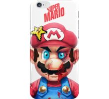 Beat Up Mario iPhone Case/Skin