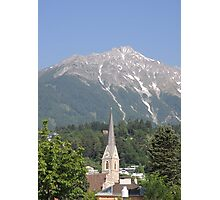 Reaching For The Top: Austria Photographic Print