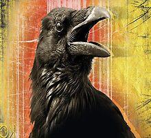 crow speaks by redboy