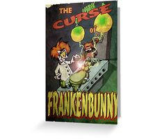 Frankenbunny Greeting Card