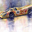 Porsche 917 K Martini Kyalami 1970 by Yuriy Shevchuk