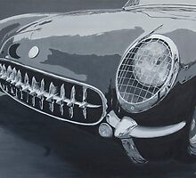 Chevrolet Corvette 1954 by BAR-ART