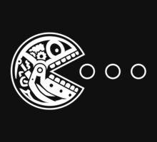 Pac Robot Skull (white) by hardwear