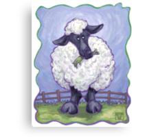 Animal Parade Sheep Canvas Print