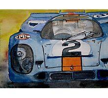 Gulf Porsche 917 No 2 Photographic Print
