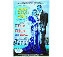 English poster of Gone with the Wind Photographic Print