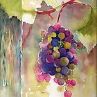 Grapes by Tania Vasylenko